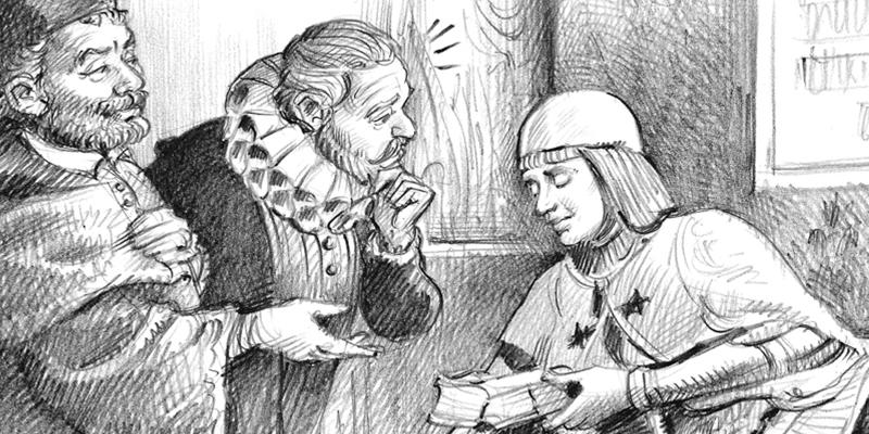 Cervantes visitó la tumba del Doncel