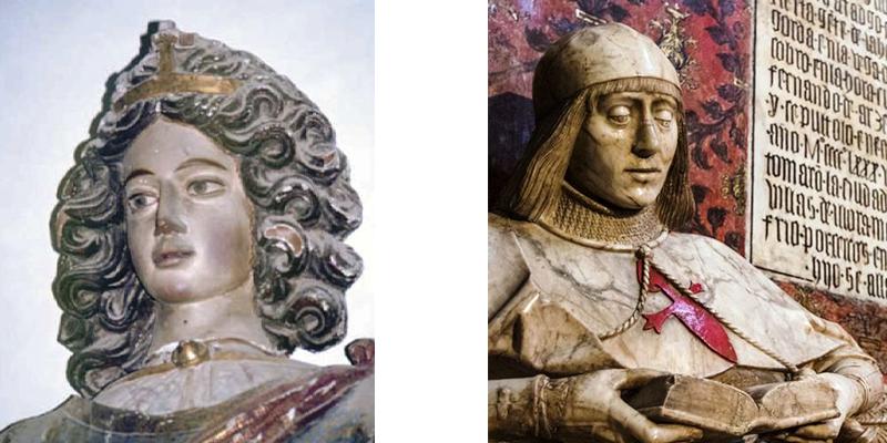 Dos estatuas que enamoran